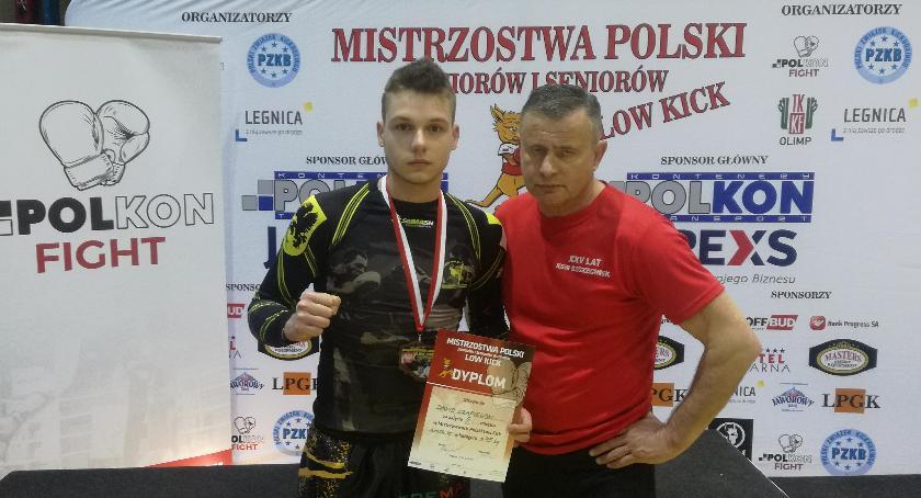Brązowy medal Dawida Czapiewskiego na Mistrzostwach Polski Juniorów