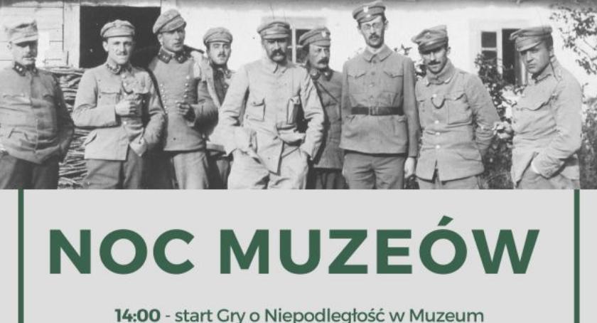 Noc Muzeów w Muzeum Regionalnym i Gra o Niepodległość. Zaproszenie