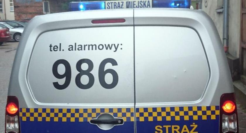 Uderzył funkcjonariusza Straży Miejskiej w Szczecinku. Został obezwładniony
