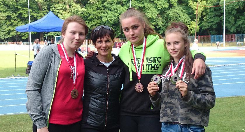 Udany start lekkoatletów na mistrzostwach województwa