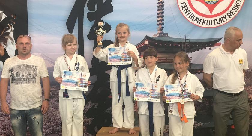 Karatecy ze Szczecinka z medalami w Resku