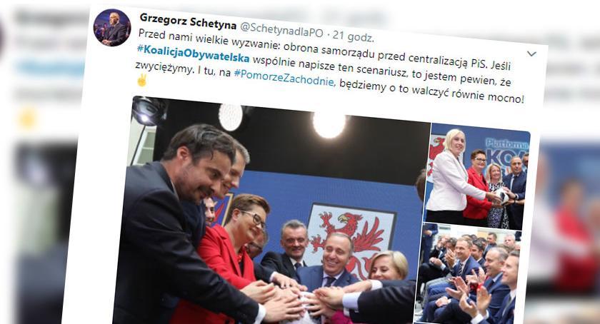 Koalicja PO - Nowoczesna bez Szczecinka. Jest jednak jeden warunek, który to zmieni