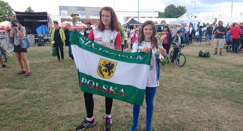 Zawodniczki Triathlon Szczecinek na podium w Suszu