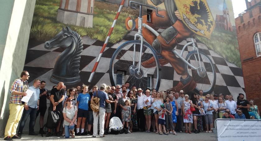 Uroczyście odsłonięto nowy szczecinecki mural