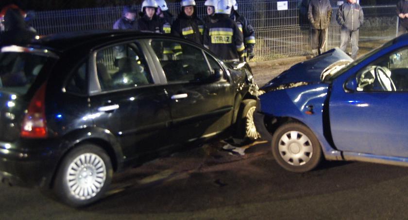 Rośnie liczba wypadków drogowych