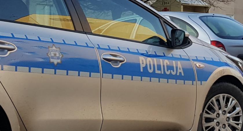 Pani Justyna dziękuje szczecineckim policjantom