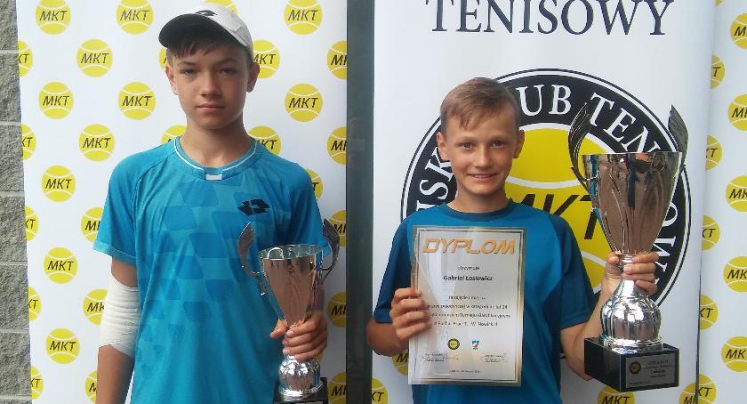 Gabriel Łosiewicz wygrywa w Łodzi turniej tenisowy