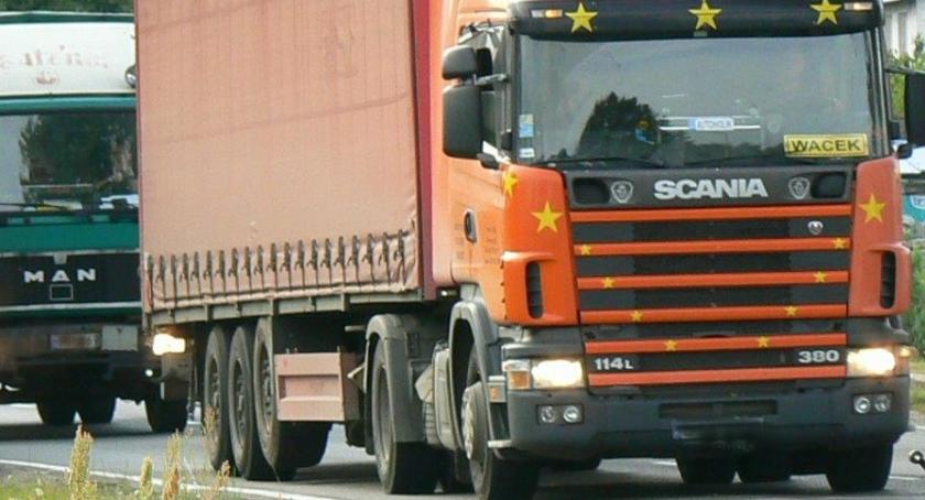 Biały Bór rajem podatkowym dla rejestrujących ciężarówki