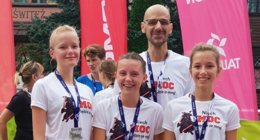Dziewczyny z MKP Szczecinek wystartowały na Festiwalu Biegowym