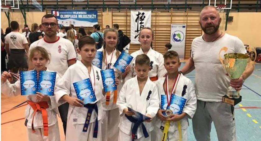 Dobry start młodych karateków w Złocieńcu