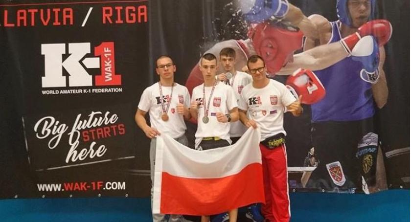 Medale KSW Szczecinek w Rydze