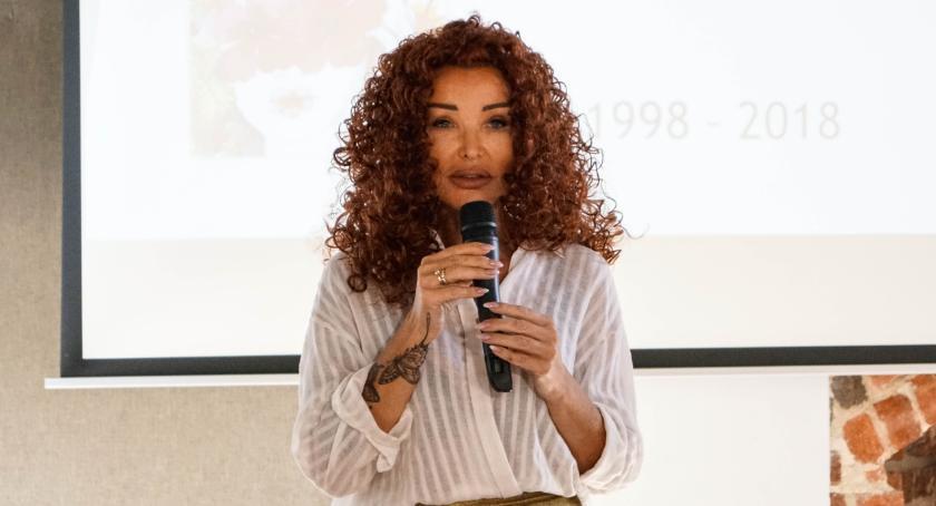 Ewa Minge na jubileuszu szczecineckich Amazonek.