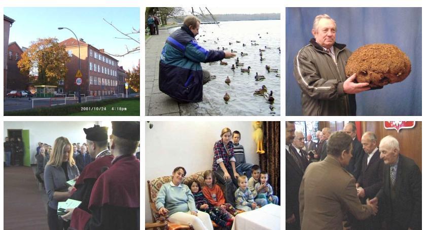 Maszyna Czasu. Szczecinek w Internecie, listopad 2001