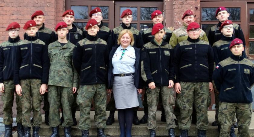 Harcerze z Delty pojechali na uroczystości do Warszawy