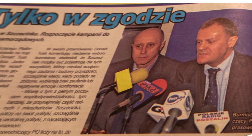 Radio Szczecinek, Kapsuła Warcisława Audycja załóżmy historyczna radiu Szczecinek - zdjęcie, fotografia