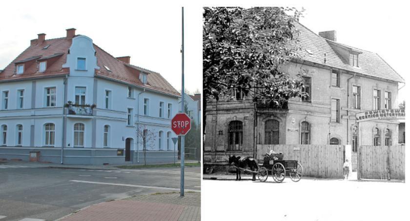 Ulica Limanowskiego i lecznica pod trzynastką