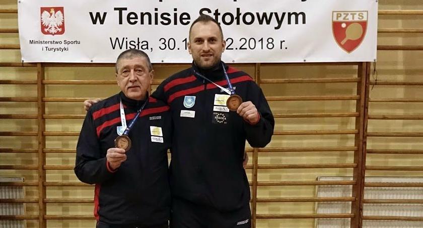 Antoni Biedziuk z brązowym medale Mistrzostw Polski