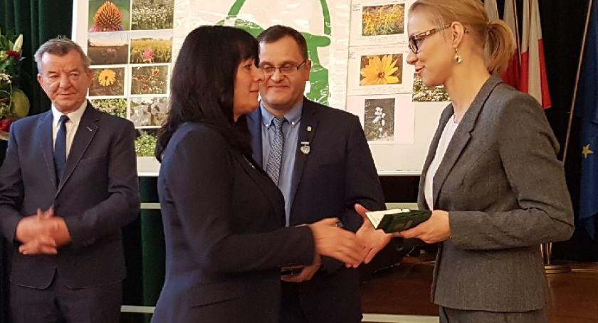 Joanna Pawłowicz z Odznaką Honorową Ministra Środowiska