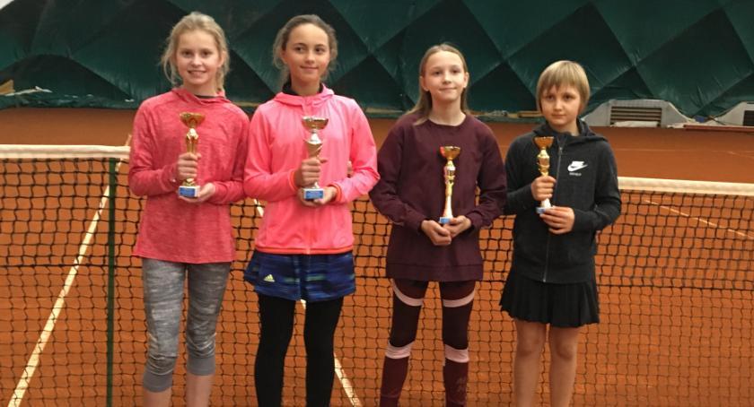 Dobre występy młodych szczecineckich tenisistów