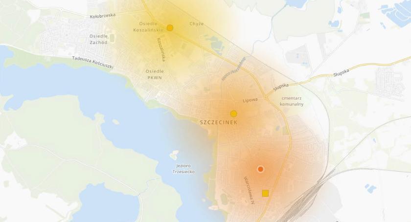 Fatalne powietrze w Szczecinku