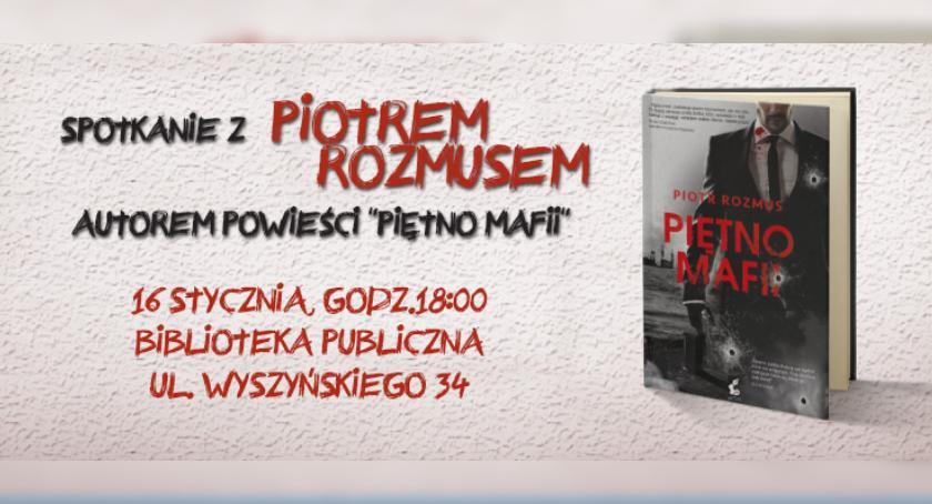 Nowa powieść Piotra Rozmusa. Spotkanie z autorem