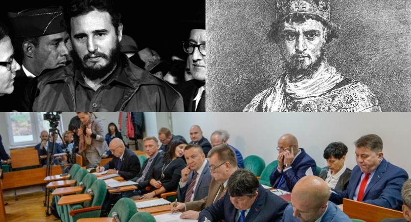 Sesja w powiecie: Fidel Castro, Kazimierz Odnowiciel i