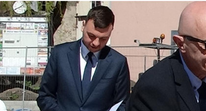 Mateusz Ludewicz, rzecznik Urzędu Miasta w Szczecinku