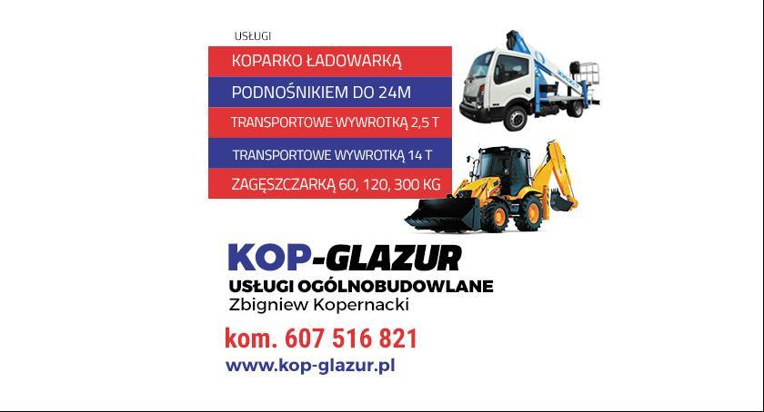 Promocje, Usługi koparkowe transportowe! - zdjęcie, fotografia