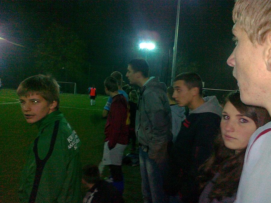 piłka nożna, Udany nocny turniej Orliku - zdjęcie, fotografia
