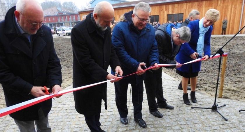 Powiat, Uroczyste otwarcie Juchowie - zdjęcie, fotografia