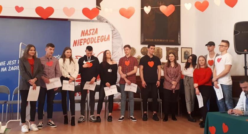 Walentynki w I LO w Szczecinku