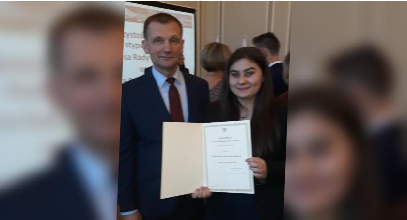 Aleksandra Mazur z ZS nr 7 w Białym Borze ze stypendium Prezesa Rady Ministrów