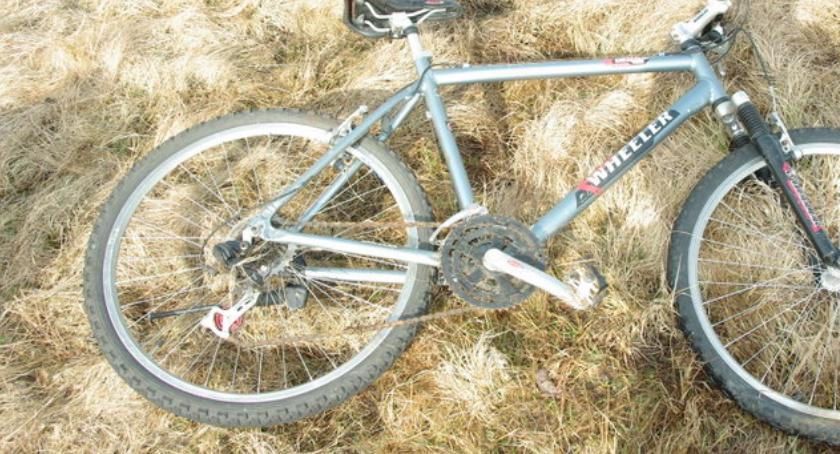 Policja, amfetaminą jechał skradzionym rowerze Mistrz - zdjęcie, fotografia