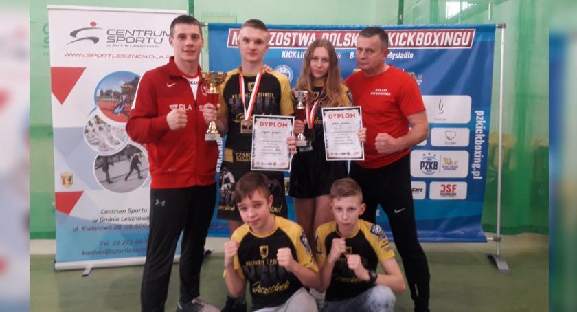 Zawodnicy KSW Szczecinek z dwoma złotymi medalami Mistrzostw Polski