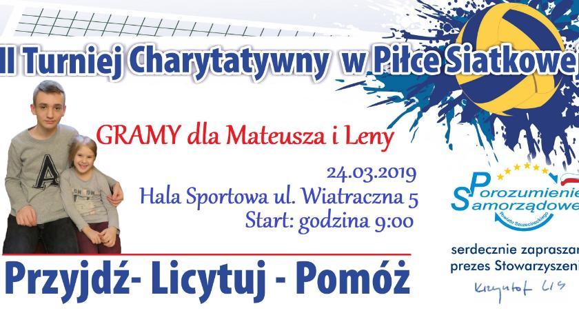 Zagrają dla Mateusza, Lenki i Matyldy. Turniej charytatywny Porozumienia Samorządowego