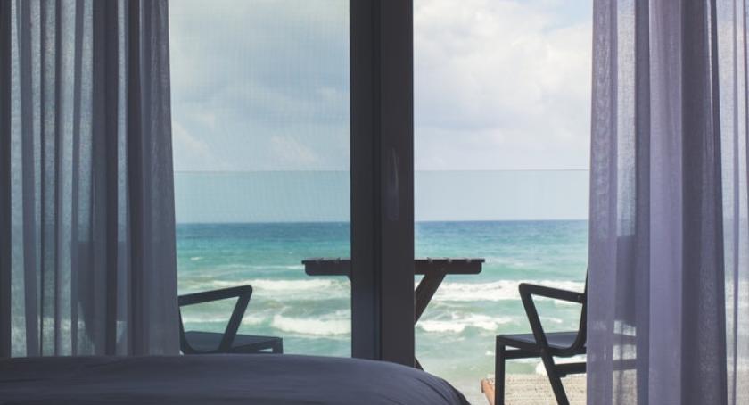 Porady, Pokój widokiem morze wczasy Międzyzdrojach - zdjęcie, fotografia