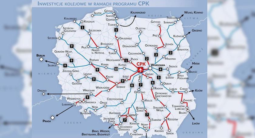 CPK przez Szczecinek. Powstanie nowa linia kolejowa