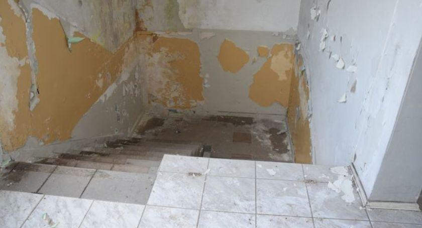 Najemca oskubał nawet ściany, resztę sprzedał na złom