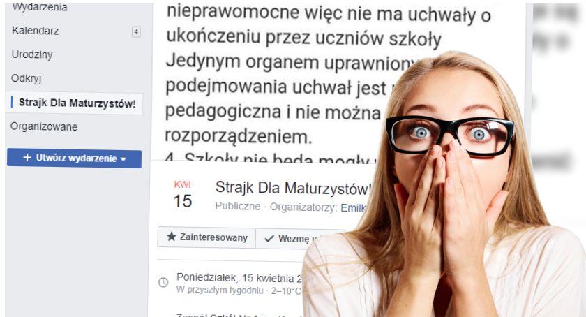 """Strajk wśród szczecineckich maturzystów już w poniedziałek? """"Chcemy ukończyć szkołę"""""""