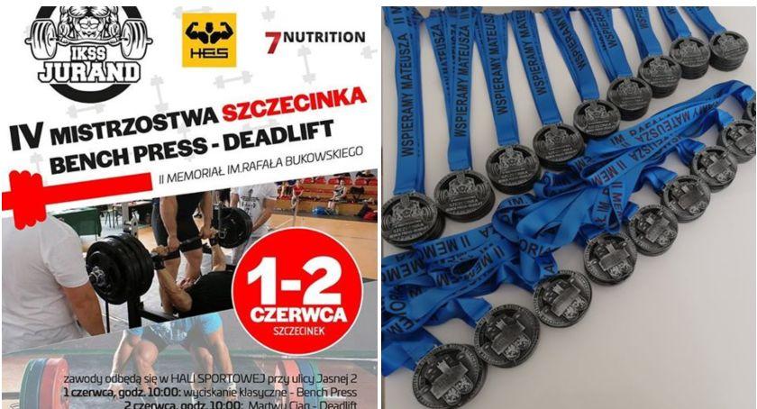 Odbędą się kolejne Mistrzostwa Szczecinka w wyciskaniu sztangi leżąc