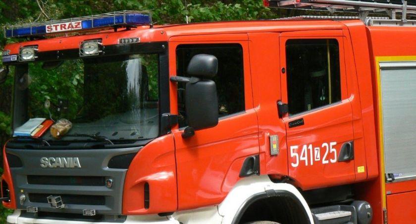 Pożary i powalnone drzwa. Ponad 50 interwencji straży pożarnej w Szczecinku