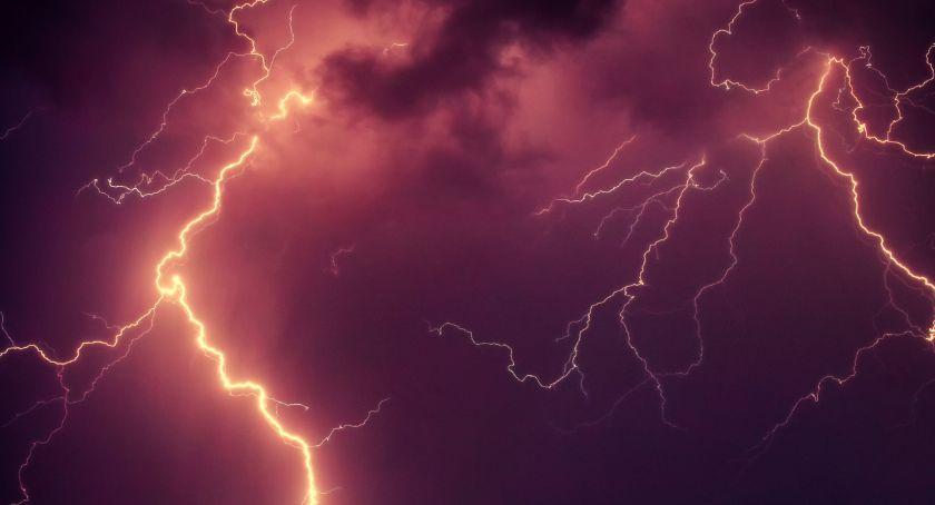 Burze, deszcz i silny wiatr. Ostrzeżenie meteorologiczne