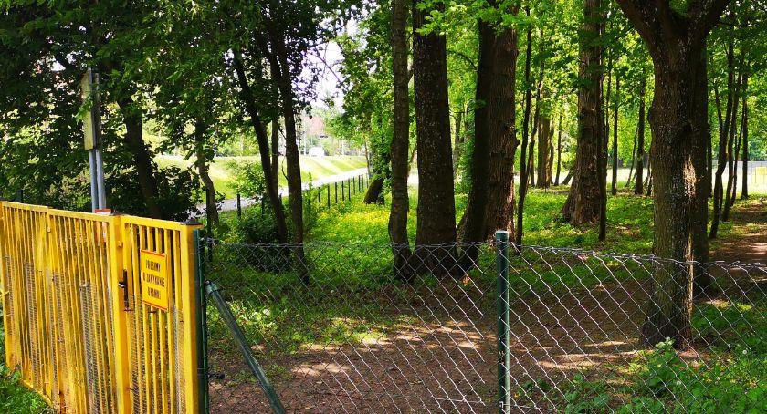 Wybieg dla psów w Szczecinku