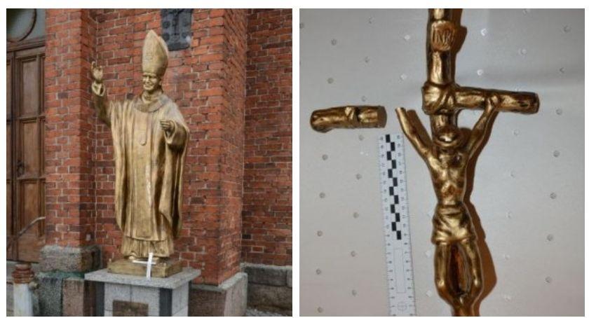 Znieważył pomnik papieża. Grozi mu grzywna lub nawet 2 lata więzienia