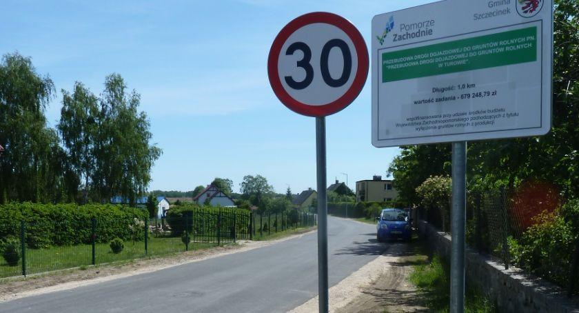 Nowa droga w Turowie droga oficjalnie uruchomiona