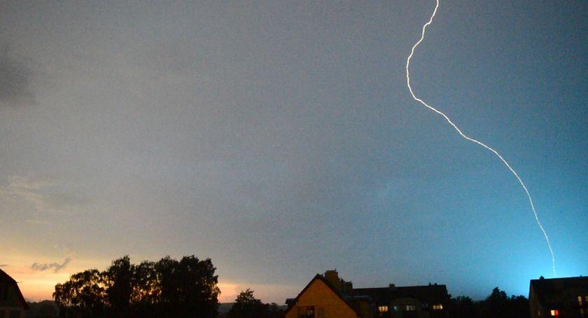 To była burzowa noc w Szczecinku i w regionie