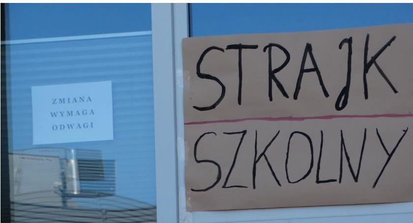 Strajk nauczycieli w Szczecinku