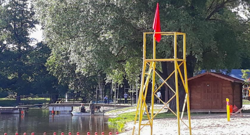 Bakterie kałowe na plaży wojskowej w Szczecinku. Kąpielisko nadal zamknięte