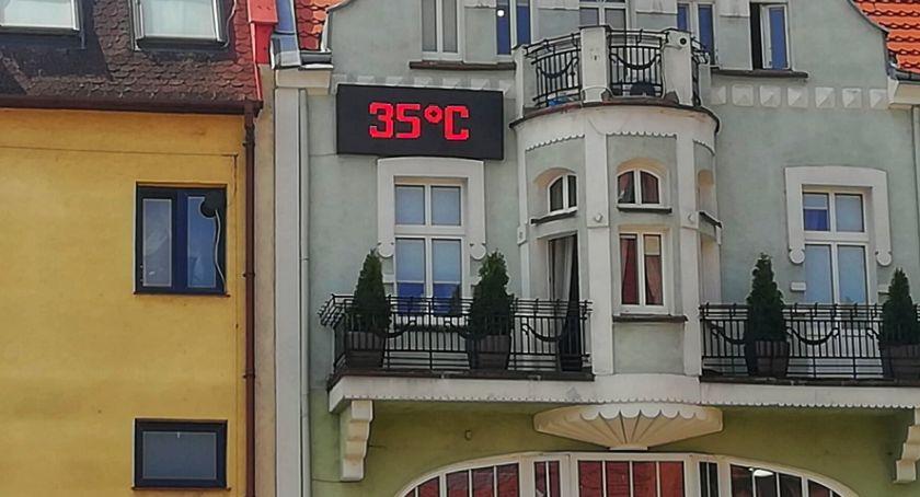 Nadchodzą piekielne upały. Czy w Szczecinku padnie rekord?