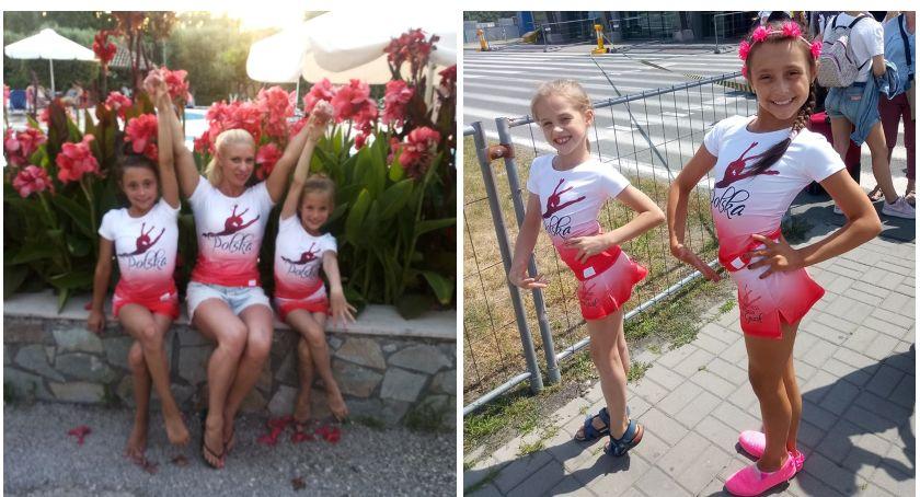 Zawodniczki ze Szczecinka wróciły z Mistrzostw Świata w Fitness Dzieci